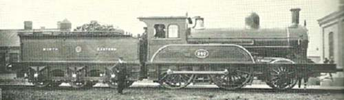 Fig. 11, NER Class D 2-4-0 No. 340 (author's collection)