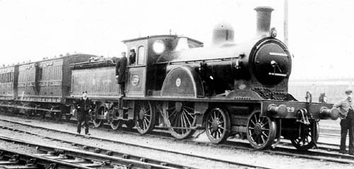 Fig. 12, NER Class I No. 1329 at Doncaster (author's collection)