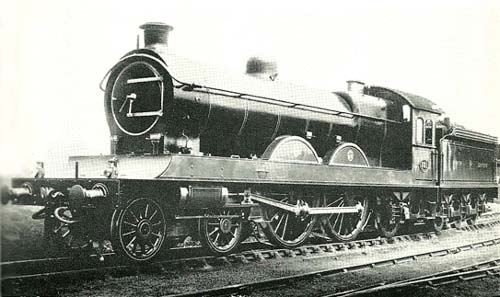 Fig. 17, NER No. 731 as built (author's collection)