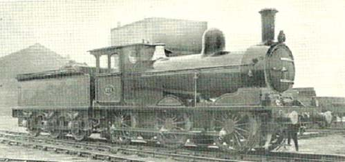 Fig. 6, Class C 0-6-0 (author's collection)