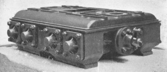 Mono-bloc valve box for No 8280