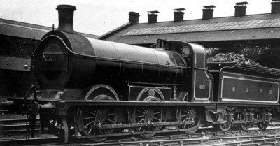 HBR Class B No. 86 (LNER J23) at Springhead (M.Peirson)