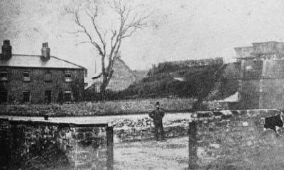Aberford depot and coal staiths during the 1880s