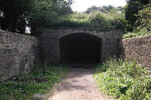 The Aberford side of the Dark Arch