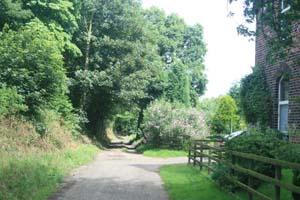 The route past Hawks Nest