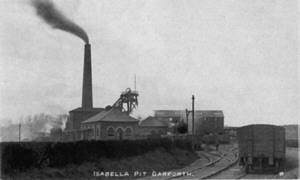 Isabella Pit in about 1900 (C.Walton)