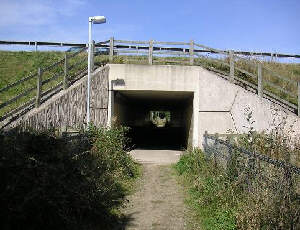 M1 Tunnel over the Aberford Railway route