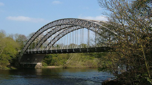 Fig. 9, Wylam Railway Bridge as it stands today