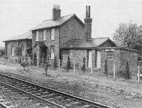 1834 Micklefield goods shed, statiomaster's house and porter's room