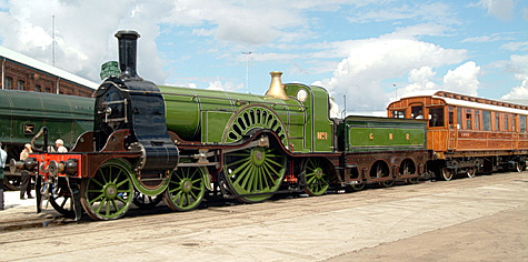 Stirling Single No. 1 at the Doncaster 150 celebrations (Geoff Byman FRPS)