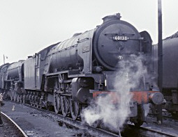 Peppercorn A1 BR No. 60138 'Boswell' at York in 1964 (M.Morant)
