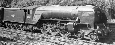 A2/1 BR No. 60509 'Waverley' with large smoke deflectors (PH.Groom)