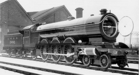 Official Darlington photograph of A2 No. 2402 City of York (M.Peirson)