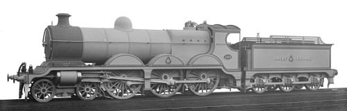 Robinson Class B1 GCR No. 196 works photo (M.Peirson)