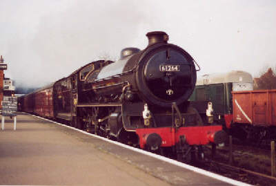 Thompson B1 No. 1264 on the Great Central Railway, thanks to Robert Langham