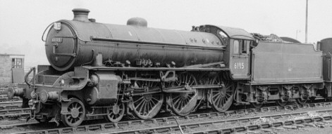Thompson B1 BR No. 61115 at York in 1964 (PH.Groom)