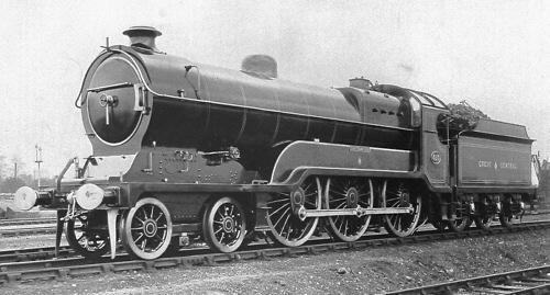 Robinson Class B2 GCR No. 423 'Sir Sam Fay' (M. Peirson)