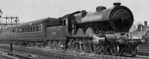 NBR C11 No. 9870 'Bon-Accord' leaving Aberdeen in 1928