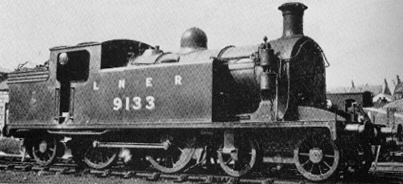 C15 No. 9133 at Kittybrewster Shed in 1937
