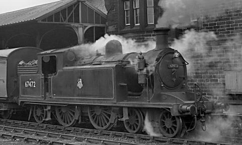 C15 BR No. 67472 at Tweedmouth before 1955 (M.Morant)