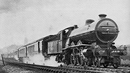 C1 No. 4419 using its booster to climb Holloway Bank, 1926