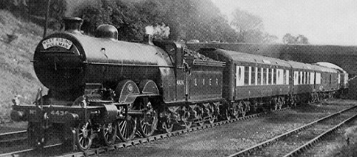 C1 No. 4436 hauling the West Riding Pullman at Greenwood, 1933