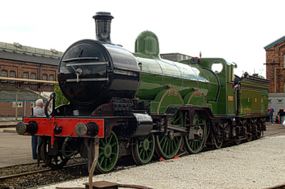 C2 No. 3990 'Henry Oakley' at the Doncaster 150 celebrations (Geoff Byman FRPS)