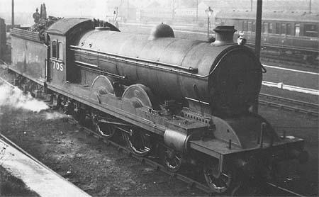 C6 No. 705 in LNER livery (c.Rosewarne)