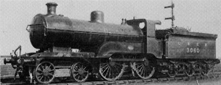 Class D1 No. 3060 at Craigentinny in 1926
