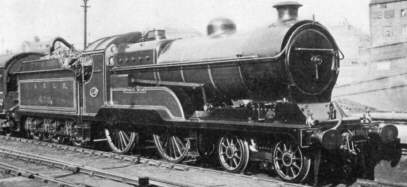 Class D10 'Director' No. 438c Worsley-Taylor at Nottingham in 1923
