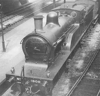 D17 LNER No. 1908 in LNER livery (c.Rosewarne)