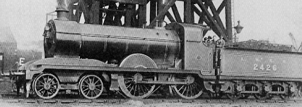 D24 No. 2426 at Cudworth in 1924