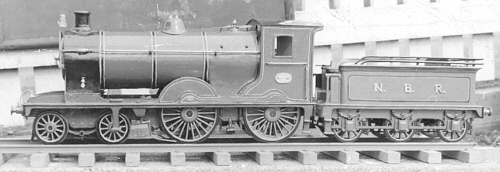 Richard Armstrong's model of NBR No. 324 (LNER Class D26) (R.Armstrong)