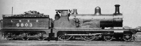 D39 No. 6803 at Elgin in August 1925