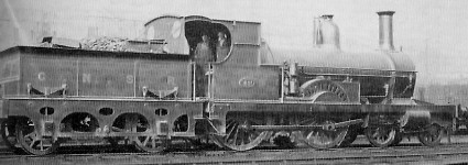 D47/1 GNSR No. 52A at Inverurie in about 1925