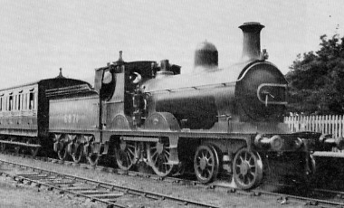 D48 No. 6871 at Cornhill in 1925