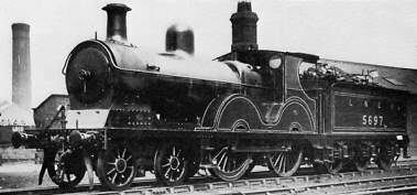 Pollitt Class D5/1 No. 5697 at Trafford Park in 1929