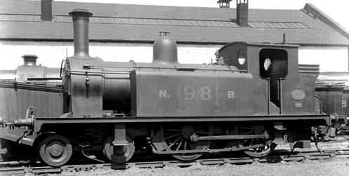 NBR No. 98 Drummond D51 (NBR Class R) 4-4-0T