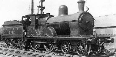 Parker Class D7 No. 5562 at Cleethorpes in about 1927