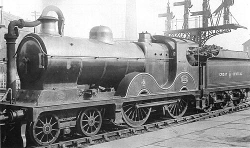 Class D9 GCR No. 1026, superheated (M.Peirson)