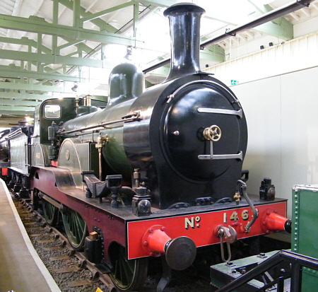 Preserved E5, NER No. 1463 at Shildon (R.Langham)