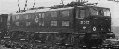 EM1 No. 26002 at Ilford in 1950