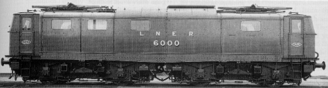 EM1 No. 6000 (ex-6701) at Doncaster in 1947