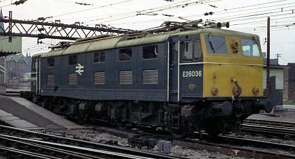 EM1/Class 76 No. E26036 in BR Blue (M.Morant)