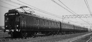 MSJA electric multiple unit in about 1931