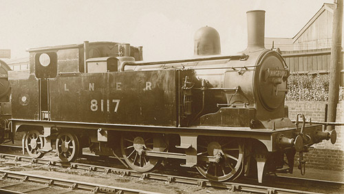 G4 0-4-4T No. 8117 (J.Piper)