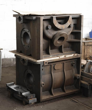 New Build G5 No. 1759 cylinder block castings (unattached)