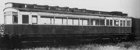 NER Petrol-Electric Autocar No. 3171 in July 1928