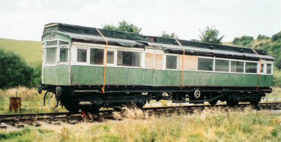 Surviving NER Petrol-Electric Autocar awaiting restoration (S.Middleton)