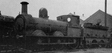 GCR Class 18 (LNER J8 Engine No 309B) at Gorton in 1924